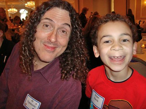 "Aidan and ""Weird Al"" Yankovic"