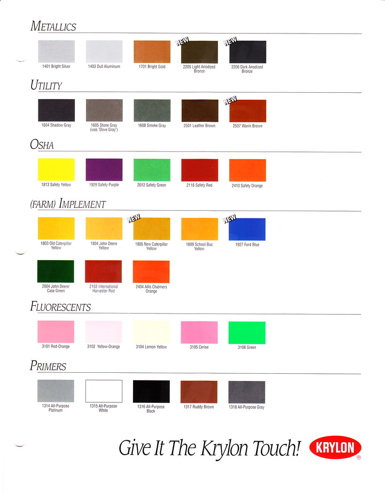 The worlds best photos of cap and rustoleum flickr hive mind 1995 krylon color chart page 2 slyle133 tags color vintage paint spray cap nvjuhfo Choice Image