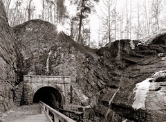 Paw Paw Tunnel, C&O Canal (PhotoHop) Tags: stitch bikeride cocanal sigma30mmf14 9images microsoftice