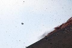 Flying boulder (hshdude) Tags: indonesia explosion ash volcanoes eruption krakatau