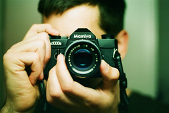 Mamiya (Markus Moning) Tags: mamiyanc1000s moning markusmoning mamiya nc1000s nc 1000 s camera kamera analog lofi 35mm film extrafilm extra color hr 200 expired 012002 2002 slr single lens reflex spiegelreflex mirror mirroring spiegel spiegelung reflection reflektion self portrait selfportrait selbstportt selbst me myself i dof bokeh