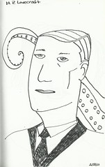 hp lovecraft (terryhadalittlelamb) Tags: columbus ohio drawing oh hplovecraft