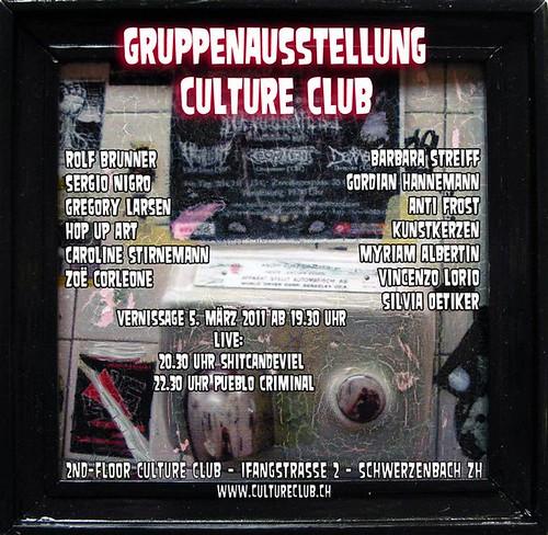 Birthday Bash - 2nd Floor Culture Club 05.03.2010 - 1 Flyer - PUEBLO CRIMINAL