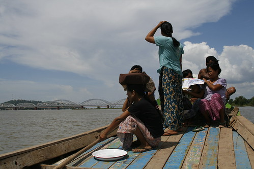 Barca para llegar/salir de Inwa
