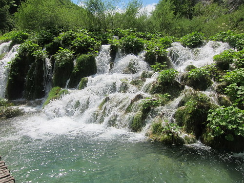 Plitvice Lakes Small Waterfall