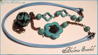 collar turquesa - blog