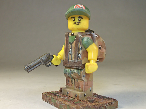 Custom minifig Delivery Man of the Apocalypse