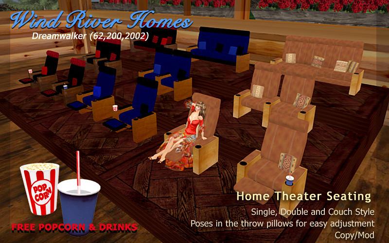 Home Theater Seating - InWorldz