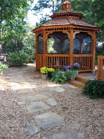 Cedar Double Roof Gazebo by FifthroomMarkets