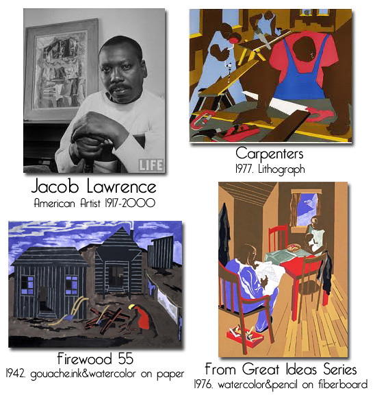 Jacob Lawrence-American Artist