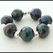 Organic Pebbles - Lampwork Glass Beads by Clare Scott SRA