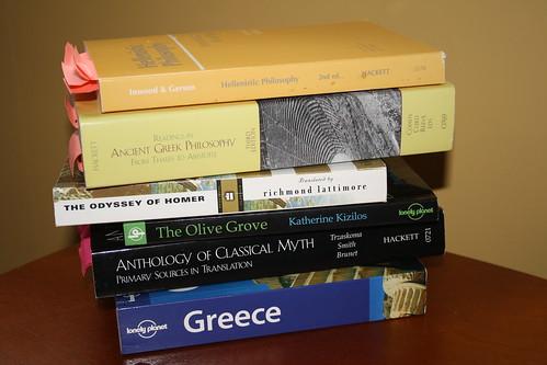 Greek books
