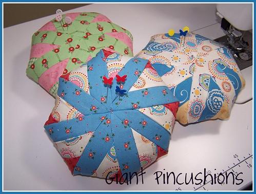 Giant Pincushions
