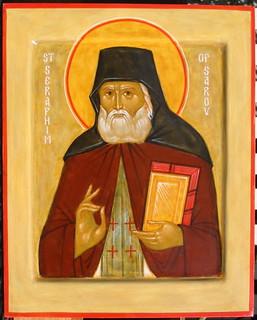 St Seraphim of Sarov by Ann Margitich