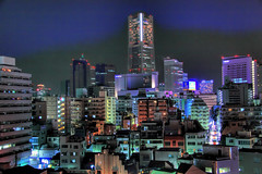 Yokohama (Arutemu) Tags: street city travel urban panorama japan night canon asian japanese asia cityscape view nightscape scenic scene nighttime getty  yokohama scenes japonesa japon  japones japonais     japonaise     hdr