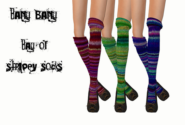 Bang Bang - Bag of stripey socks