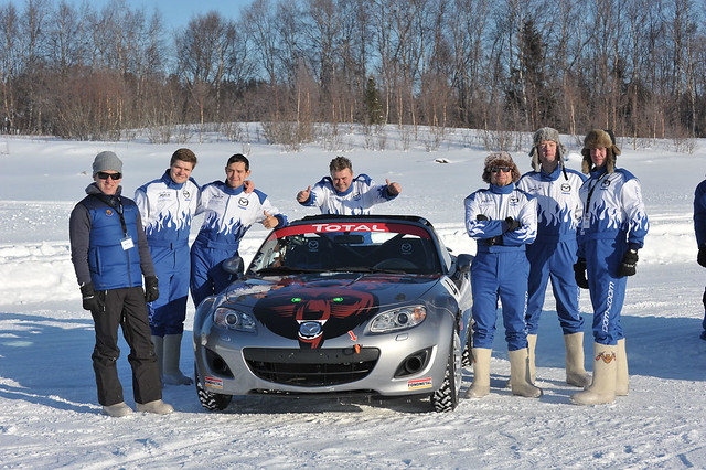 MX5 on Ice 2011 Russia