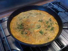 Purslane parsnip fritatta 2