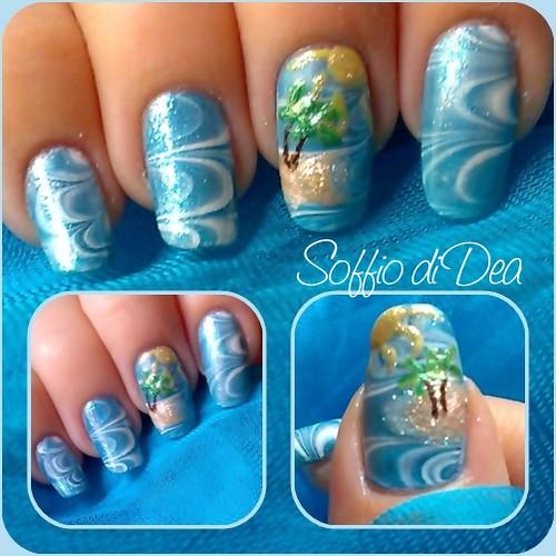 marble nail art-38