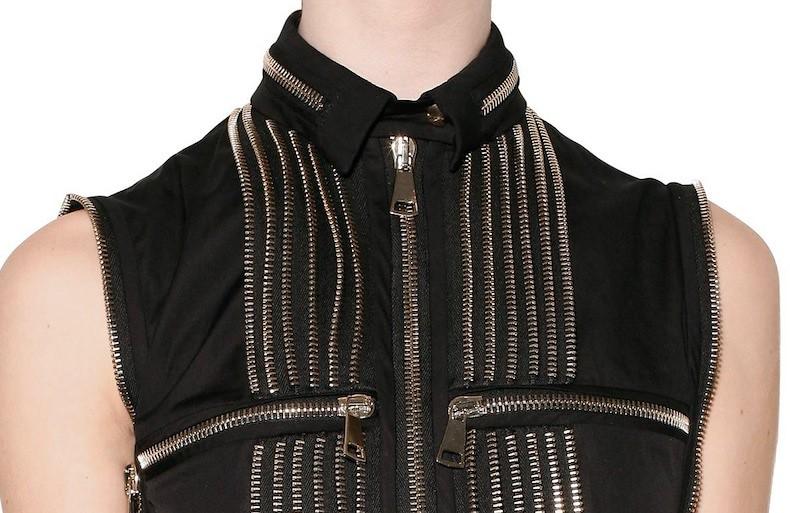 Givenchy SS2011 zipper shirt 3