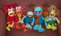 Fraggles (Veni Vidi Dolli) Tags: fragglerock fraggles