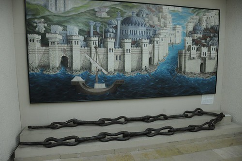 Chain across the Golden Horn