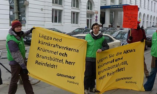 Reinfeldt i Hamburg
