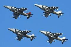 HARRIERS SQUARED (vector1771 (Hangar71.com / Aviationintel.com)) Tags: plane us nw aircraft aviation flight navy jet fast landing takeoff usn aviator pilot aerospace navair transportationa