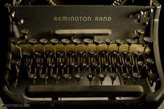 Still LIfe_058_20110123 (T. Scott Carlisle) Tags: old typewriter vintage remingtonrand tscottcarlisle tscottcarlislecom