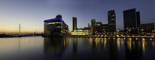 Media City Manchester Pano