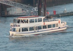 London Rose (kenjonbro) Tags: uk trip cruise white london towerbridge 1977 daytrip riverbus londonrose lavisurgis