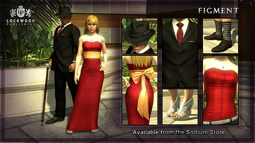 PlayStation Home: Lockwood Formal