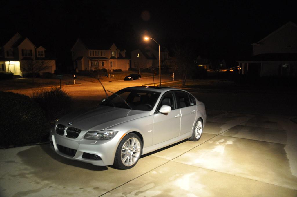 Washing Car Night