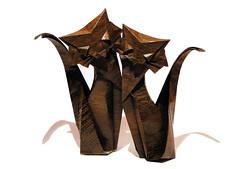 Cat (Roman Diaz) (Danielle Verbeeten) Tags: cat origami gato romandiaz papiervouwen