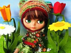 Patricia in Spring Mood