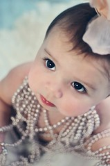 17a (The Photography Garden) Tags: baby cute girl rose eyes sweet lips pearls