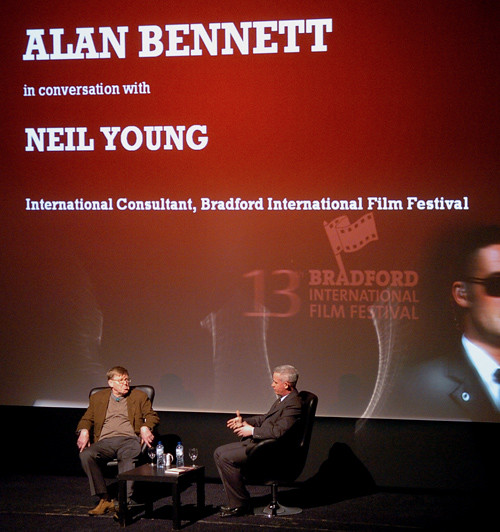 Alan Bennett and Neil Young