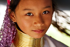 The Secret of Neck Rings (Sayid Budhi) Tags: portrait people thailand tribal human chiangmai tribe norththailand northernthailand karenvillage kayan amazingthailand karenhilltribe photoouting photohunting karenlongneck karengirl karenlongnecktribe photographictour visitthailand kayantribe travelasiaphotographycom portraitofkarengirl asianphotographictour