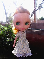Pretty dress sunlight Tsubasa.