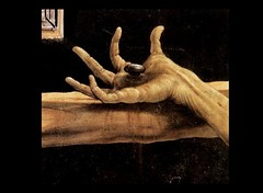 Jesus Hand & Nail- Detail of the Isenheim Alta...
