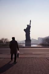 Going To NY (oliveverte) Tags: paris statue liberty libert