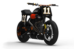 BOTT XR-1 (bottpower) Tags: design 3d render motorbike concept cad buell flattrack bottpower bottxr1