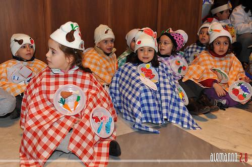 """Carnevale Romano - Scuola materna """"Baiocco 85"""" in visita al Campidoglio"""