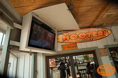 Cowabunga! (originalhooters) Tags: door television tampa tv surf florida hooters entrance surfing fl 1983 clearwater outfront hootersgirls originalhooters meetahootersgirl