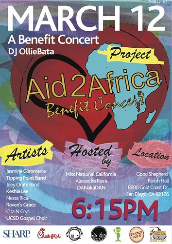 Aid2Africa - Flyer