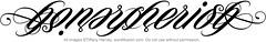 """""""Honor Cherish"""" Ambigram"""