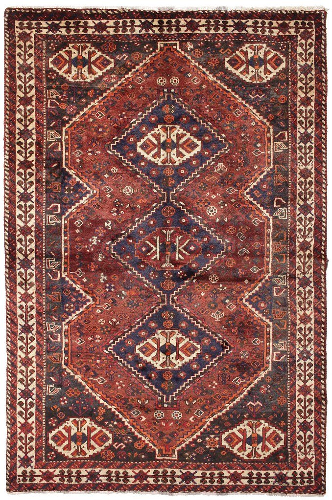 Shiraz carpet 260x168 cm from Persia / Iran