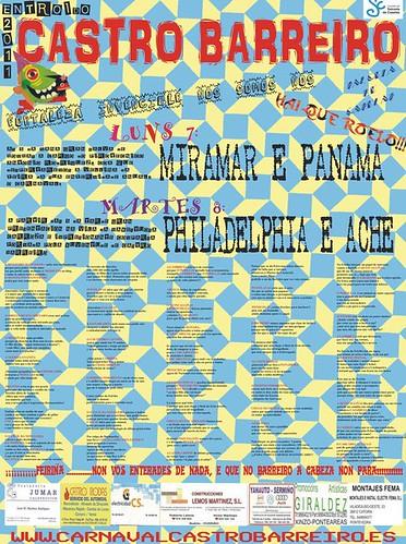 Salceda de Caselas 2011 - Entroido de Castro Barreiro - cartel