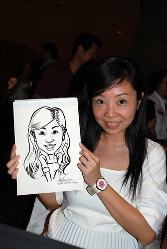 Caricature live sketching for Swire Pacific Offshore & The China Navigation Company Pte Ltd Annual D&D - 8