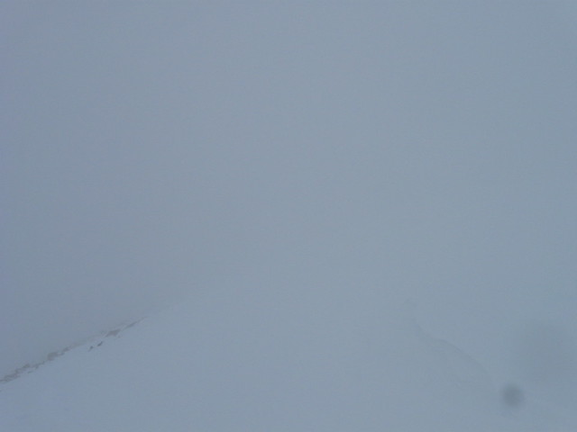 White out conditions